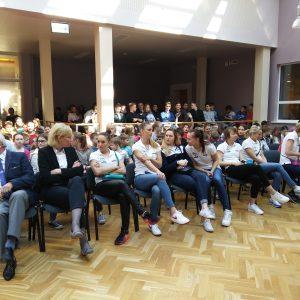 Wizyta koszykarek Basketu 90 Gdynia