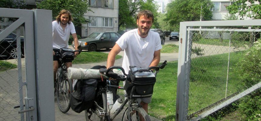 Cycling from Brittany to Ural
