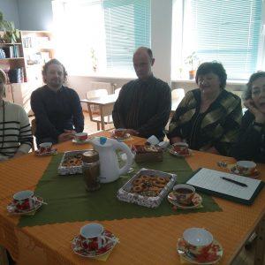Pierwsze posiedzenie Zarządu Ryskiego Oddziału ZPŁ