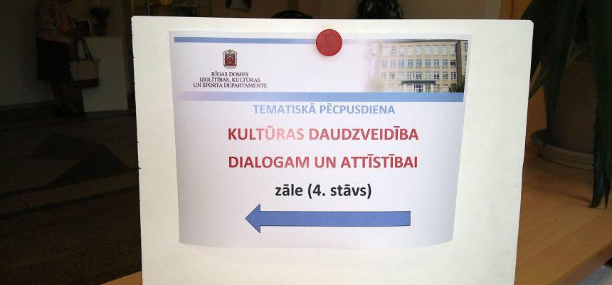 Kultūras daudzveidība dialogam un attīstībai 2016