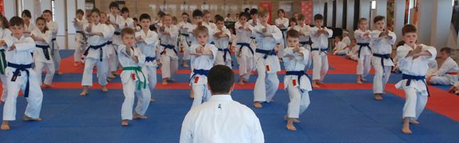 Treningi karate tradycyjnego