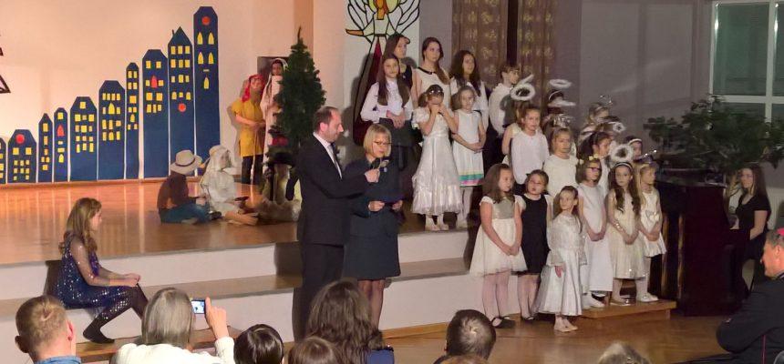 Wigilia w Polskiej Szkole w Rydze 2016