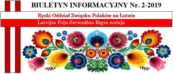 Biuletyn Informacyjny nr 2/2019