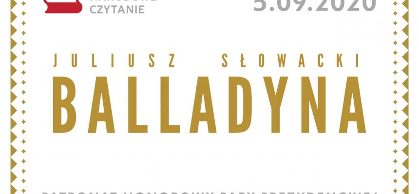 Narodowe Czytanie – Balladyna