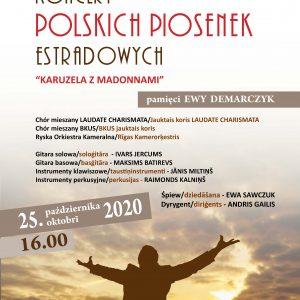 """Koncert polskich piosenek estradowych """"Karuzela z Madonnami"""""""