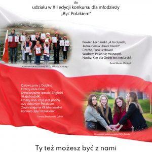 """Konkurs """"Być Polakiem"""" – XII EDYCJA 2021 r."""